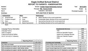 blank report card template standard based grade report card templates aeries help