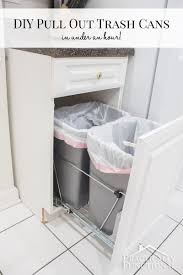Diy Clothes Dryer Diy Pull Out Trash Cans In Under An Hour