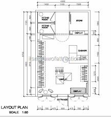Bakery Floor Plan Design Clothing Boutique Floor Plan Design Portfolio Pinterest
