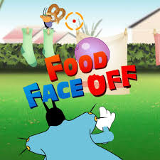 oggy cockroaches food face game chip games