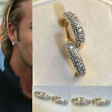 diamond earrings on men unbranded diamond earrings studs for men ebay