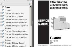 canon irc2550 irc2550i irc2880 ir3080 irc3080i irc3380