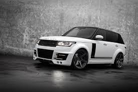 black chrome range rover tuning range rover vogue lumma clr r topcar