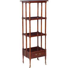 etagere legno scaffale etagere in legno noce cm 35x45x140h collyshop