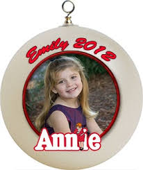 personalized photo orphan ornament