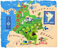 best 25 colombia map ideas on pinterest map of colombia france