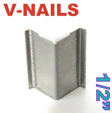 420 pc v nails v nail 1 2 u0026 034 for soft wood type uni picture
