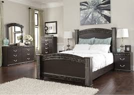 Bedroom Dresser Mirror Stanley S Furnishings Vachel Poster Bed W Dresser Mirror