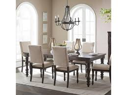 90 Dining Table Homelegance Begonia 1718gy 90 Transitional Dining Table With
