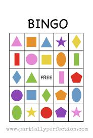 Free Halloween Bingo Cards Printable Shape Bingo Card Free Printable I U0027m Going To Use This To Teach