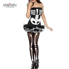 online get cheap halloween skeleton costumes aliexpress com