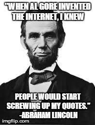 Abraham Lincoln Meme - vet luke austin daugherty