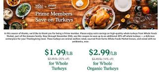 promises cheaper thanksgiving turkeys and more at whole