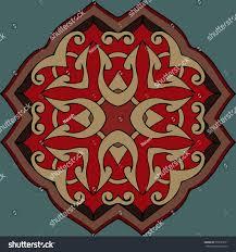 abstract geometric ornaments baroque renaissance vector stock