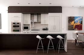 kitchen contemporary round black modern stainless steel kitchen