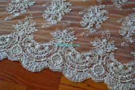 blf001 wedding lace fabric exquisite beading bridal www