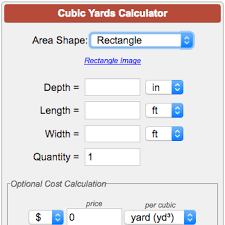 How Many Tons Per Cubic Yard Of Gravel Calculate Cubic Yards Cubic Feet Or Cubic Meters For Landscape