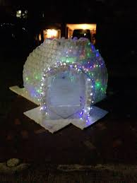 milk jug igloo recycle christmas crafts christmas lights crazy