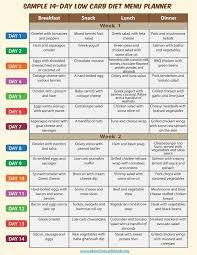 food diet menu men day program