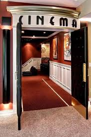 home theater room doors design and ideas