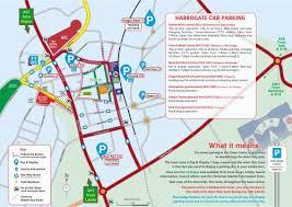 map uk harrogate location parking