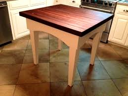 kitchen butcher block table making a butcher block table