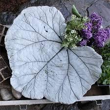 home dzine garden ideas concrete leaf ornament or water feature