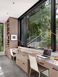 Langer Schreibtisch 15 Home Offices Für Zwei Personen Entworfen U2013 Home Deko