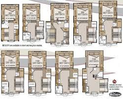 arctic fox 5th wheel floor plans gurus northwood truck camper