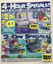 best buy sprint black friday deals best buy black friday ad from 1999 and 18 more fascinating images
