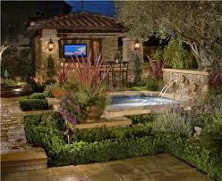 gorgeous tuscan backyard landscaping ideas garden decors