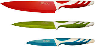 colored kitchen knives home decoration ideas