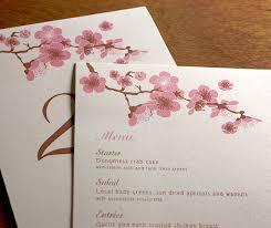 Cherry Blossom Wedding Invitations Cherry Blossom Invites Letterpress Wedding Invitation Blog