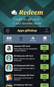 apps for gift cards apps giftshop free gift card android apps on play