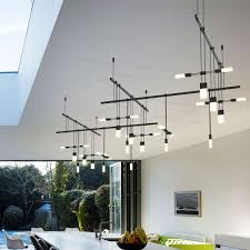 lighting sonneman lighting with wall decor also modern dining