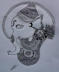 pencil arts and mehndi designs pencil sketch of lord ganesha