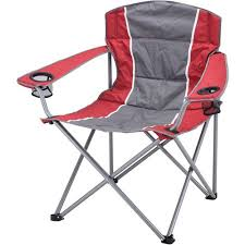Armchair Drink Holder Ozark Trail Xxl Padded Folding Camping Chair With Cup Holders