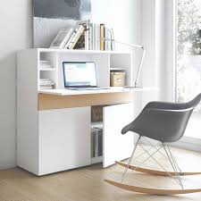 bureau teck massif meuble bureau secretaire design best of bureau bois design simple