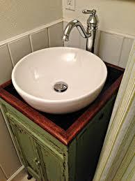 White Bathroom Vanity With Vessel Sink Bathroom Vanities Marvelous Diy Bathroom Vanity With Vessel Sink