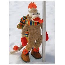 sock monkey company sock monkey card