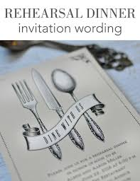 Dinner Invitation The 25 Best Rehearsal Dinner Invitation Wording Ideas On