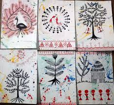 warli new year cards new year card cards and new year s