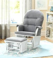 Recliner Chair Sizes Ottoman Glider Chair And Ottoman Set Baby Relax Kelcie Swivel