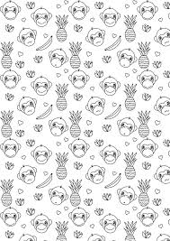 printable monkey coloring pages 37 best coloring pages images on pinterest coloring sheets