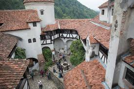 a spooky tour of the real life transylvanian castle that inspired