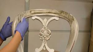 How To Paint A Bookcase White by How To Antique Furniture Distress Stain Youtube