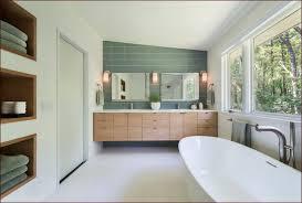 Mid Century Modern Bathroom Zampco - Mid century bathroom vanity light