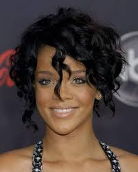 Bob Frisuren Rihanna by Rihanna Curly Hairstyle Rihanna Curly Hairstyle