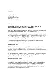 standard letter format format