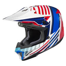 Hjc 2017 Cl X7 Hero Mc 21 Mx Helmet Red White Blue Available At